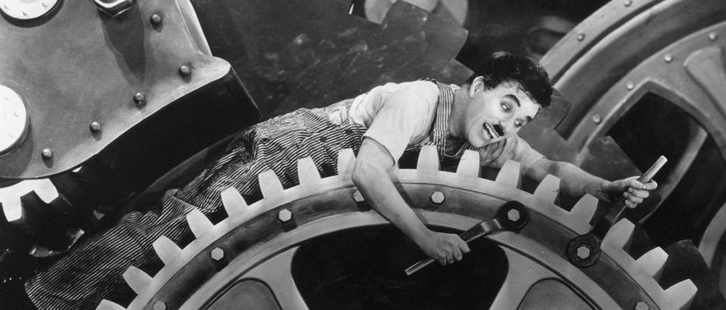 Chaplin Tempi Moderni Modern Times