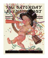 New-Years-Baby-1937-Saturday-Evening-Post-J.C.-Leyendecker