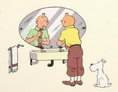 miroir Tintin