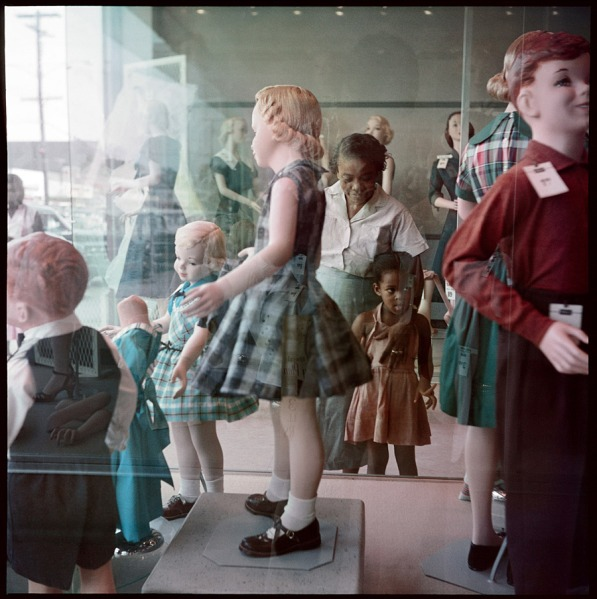 parks-ondria-tanner-and-her-grandmother-window-shopping-mobile-alabama-1956-web