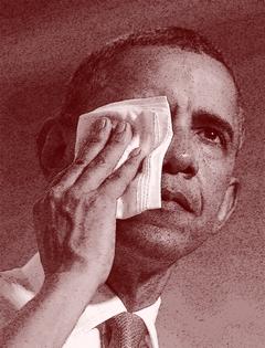 obama cry