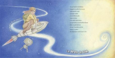 Gianni Rodari_la Befana Spaziale_ illustrazione di Lisa Ciccone