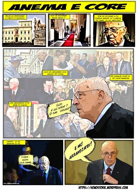 Napolitano addio