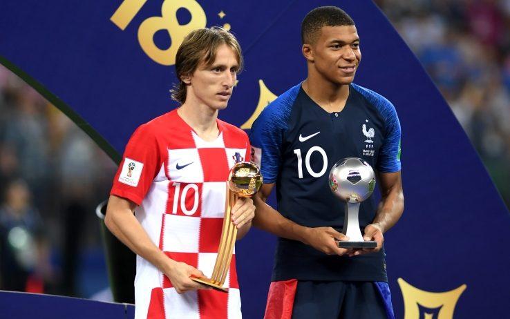 Modric e Mbappé